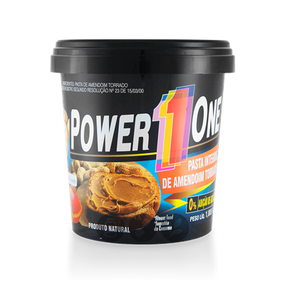 Pasta de amendoin Power one 1kg