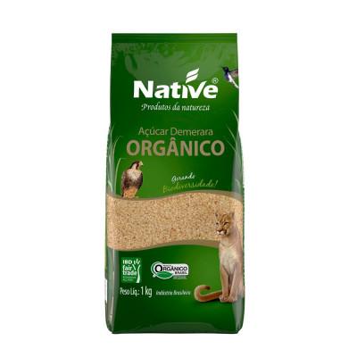 Açúcar Orgânico Demerara 1KG - Native