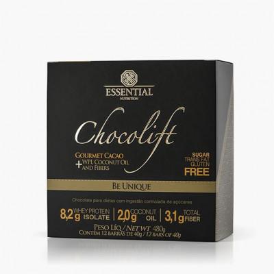 Chocolift Be Unique Box c/ 12 barras Essential