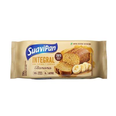 Bolo Integral de Banana Zero Açúcar 250G - Suavipan