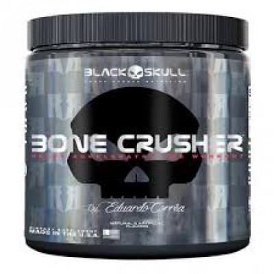 BONE CRUSH BLACK SKULL