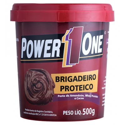 Pasta de Amendoin Brigadeiro Proteico 500g