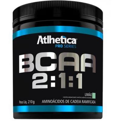 BCAA 2:1:1 Pro Series 210G Limão - Atlhetica Nutrition
