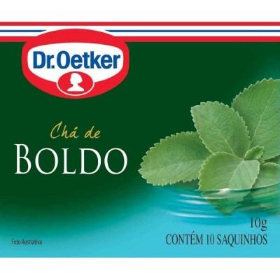 Chá de Boldo CX.10 Sachês - Dr. Oetker