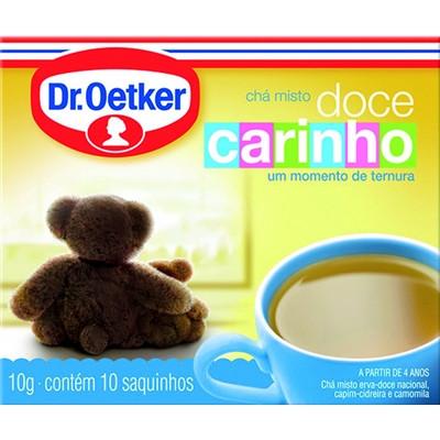 Chá Doce Carinho CX.10 Sachês - Dr. Oetker