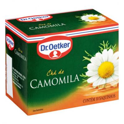 Chá de Camomila Sachês - Dr. Oetker