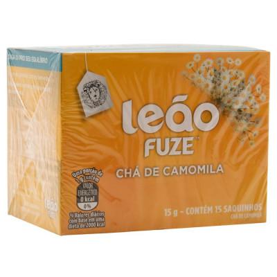 Chá Leão Fuze Camomila CX.15 Sachês