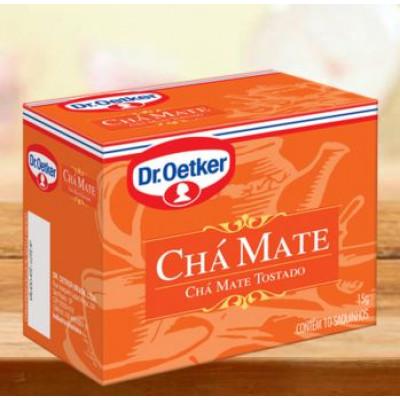 Chá Mate CX.10 sachês - Dr. Oetker