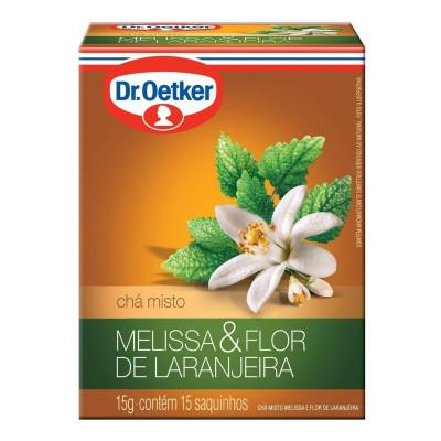 Chá Melissa & Flor de Laranjeira CX.15 Sachês - Dr. Oetker