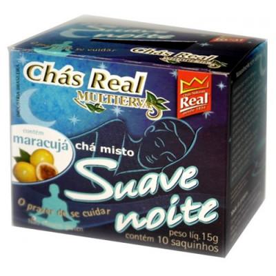 Chá Misto Suave Noite CX.10 Sachês - Chás Real