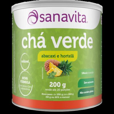 CHÁ VERDE 250G SANAVITA