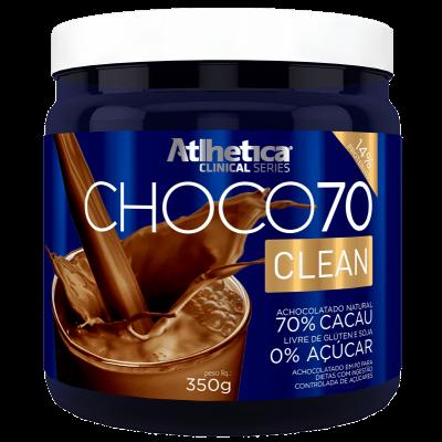CHOCO70 CLEAN 350G ATLHETICA
