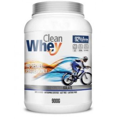 CLEAN WHEY 100% ISOLADO 900G PROTESA