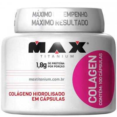 Colagen 500 100 Cápsulas - Max Titanium