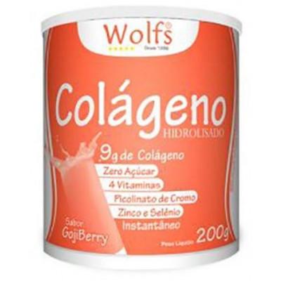 COLÁGENO HIDROLISADO 200G WOLFS