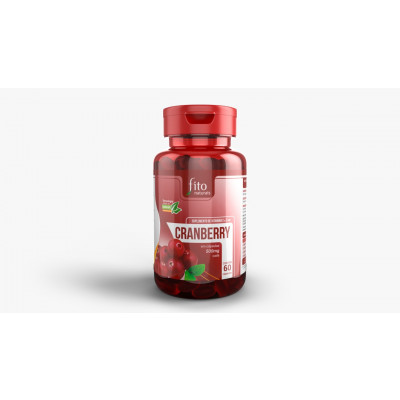 Cranberry 500MG 120 Cápsulas - Fito