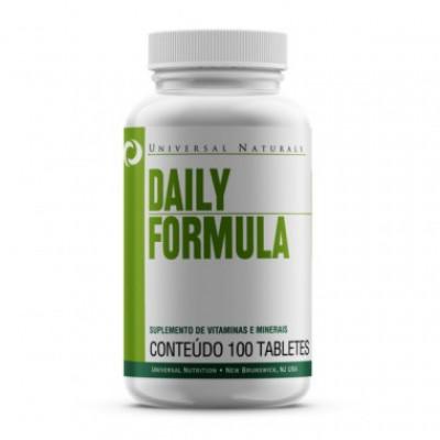 Daily Fórmula 100 Tabletes - Universal Naturals