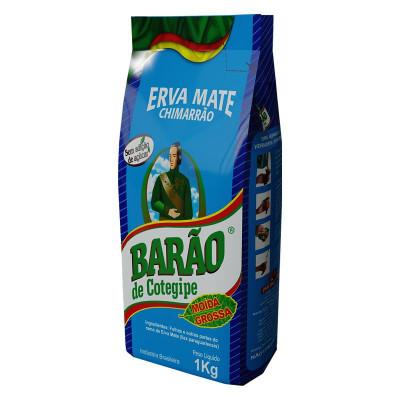 Erva Mate Barão Moída Grossa 1KG