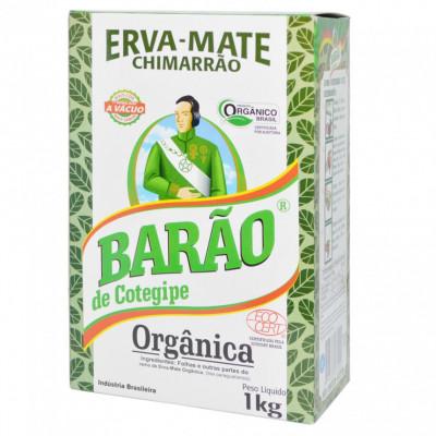 Erva Mate Chimarrão Orgânica 1kg - Barão