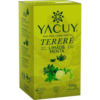 Erva Mate Tereré 500G Limão/Menta - Yacuy