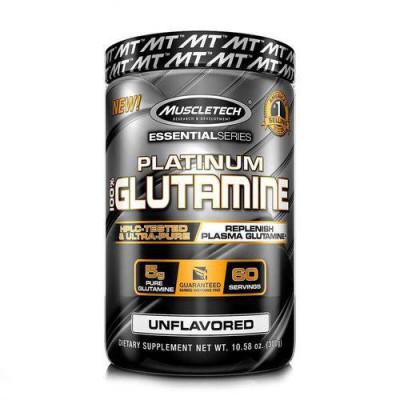 Platinum 100% Glutamine 300G - Muscletech