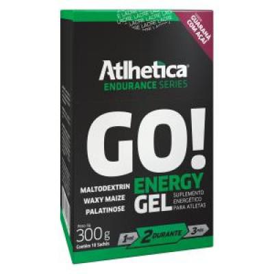 GO ENERGY GEL CX10 SACHÊS ATLETICA