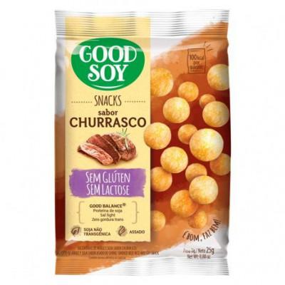 Snack Churrasco 25g - Good Soy