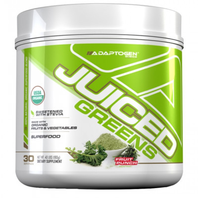 Juiced Greens 180g Fruit Punch