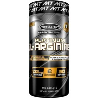 Platinum 100% L-arginine 100 Cápsulas - Muscletech