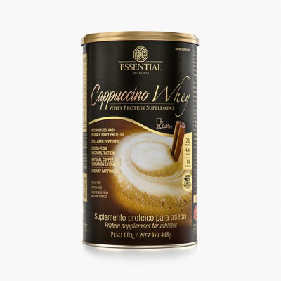 Cappuccino Whey 448g Essential