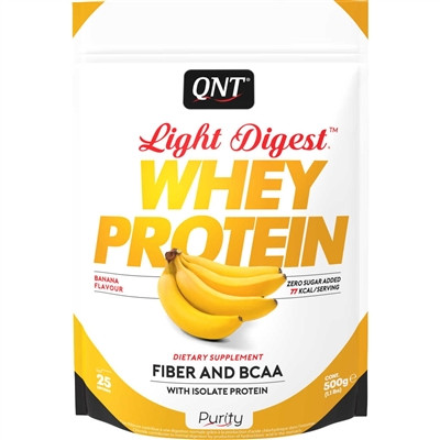 Light Digest Whey Protein 500G - QNT