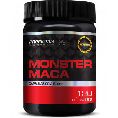 Monster Maca Peruana 120 cápsulas