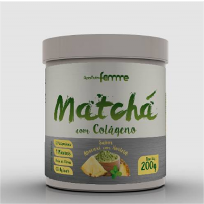 Matcha com Colágeno 200G Apisnutri