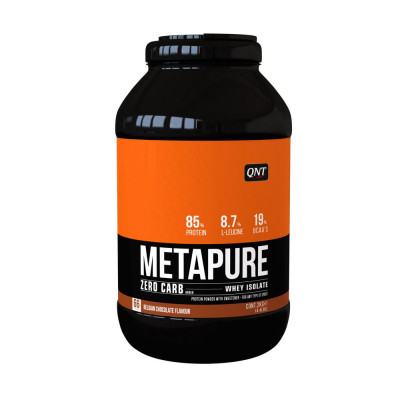 Metapure Zero Carb 2kg Chocolate Belga - QNT