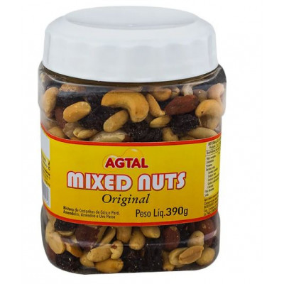 MIXED NUTS 390G AGTAL