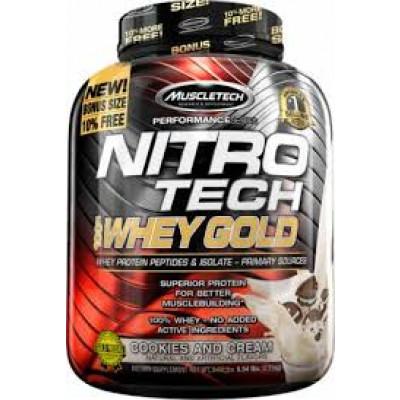 Nitro Tech 100% Whey Gold 2,51KG - Muscletech
