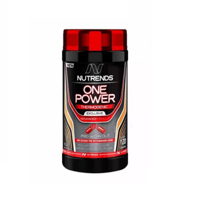 One Power Pre-Workout 120 Cápsulas Nutrends