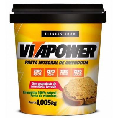 Pasta de Amendoim Integral Crocante 1,005 Kg - Vitapower