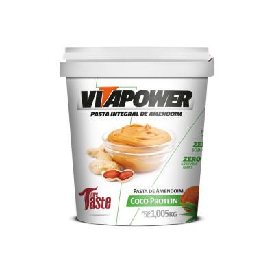 Pasta de Amendoim com Coco 1,005KG - Vitapower
