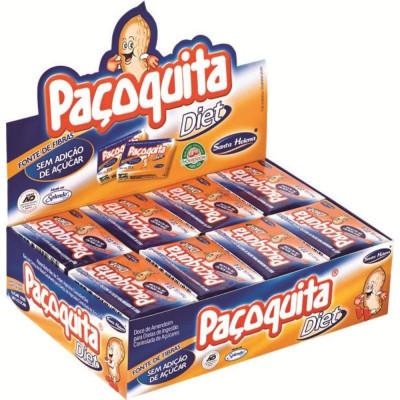 Paçoquita Diet Caixa c/24