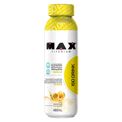 ISO DRINK 480ml MAX TITANIUM