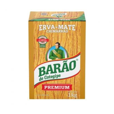 Erva Mate Barão Vácuo Premium 1KG