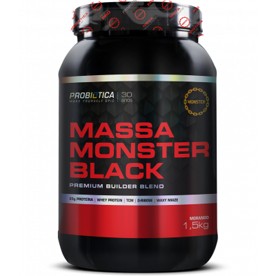 Massa Monster Black 1,5kg