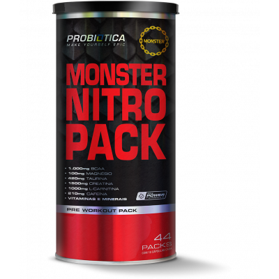 Monster Nitro Pack NO2 44 Packs