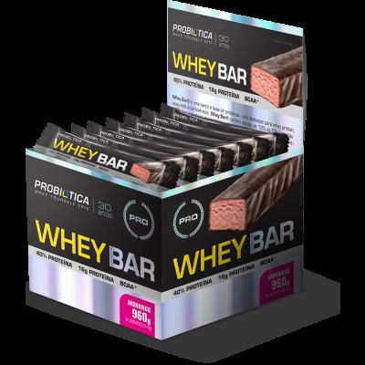 Whey Bar caixa c/24