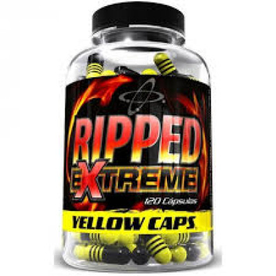 RIPPED EXTREME YELLOW 120 CAPSULAS