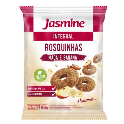 Rosquinha Integral Maça e Banana 200G - Jasmine
