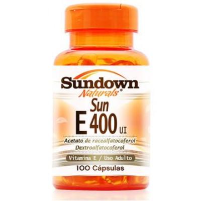 SUN E-400 UI 100 CAPSULAS SUNDOWN