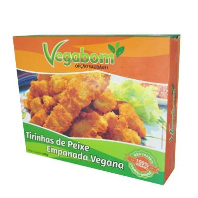 Peixe Empanado - Vegabom