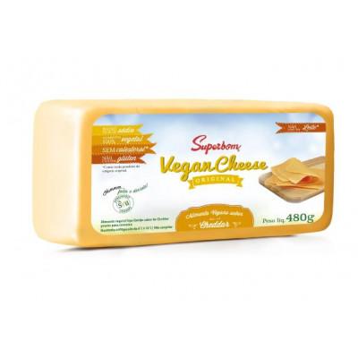 Vegan Cheese 480G Cheddar - Superbom